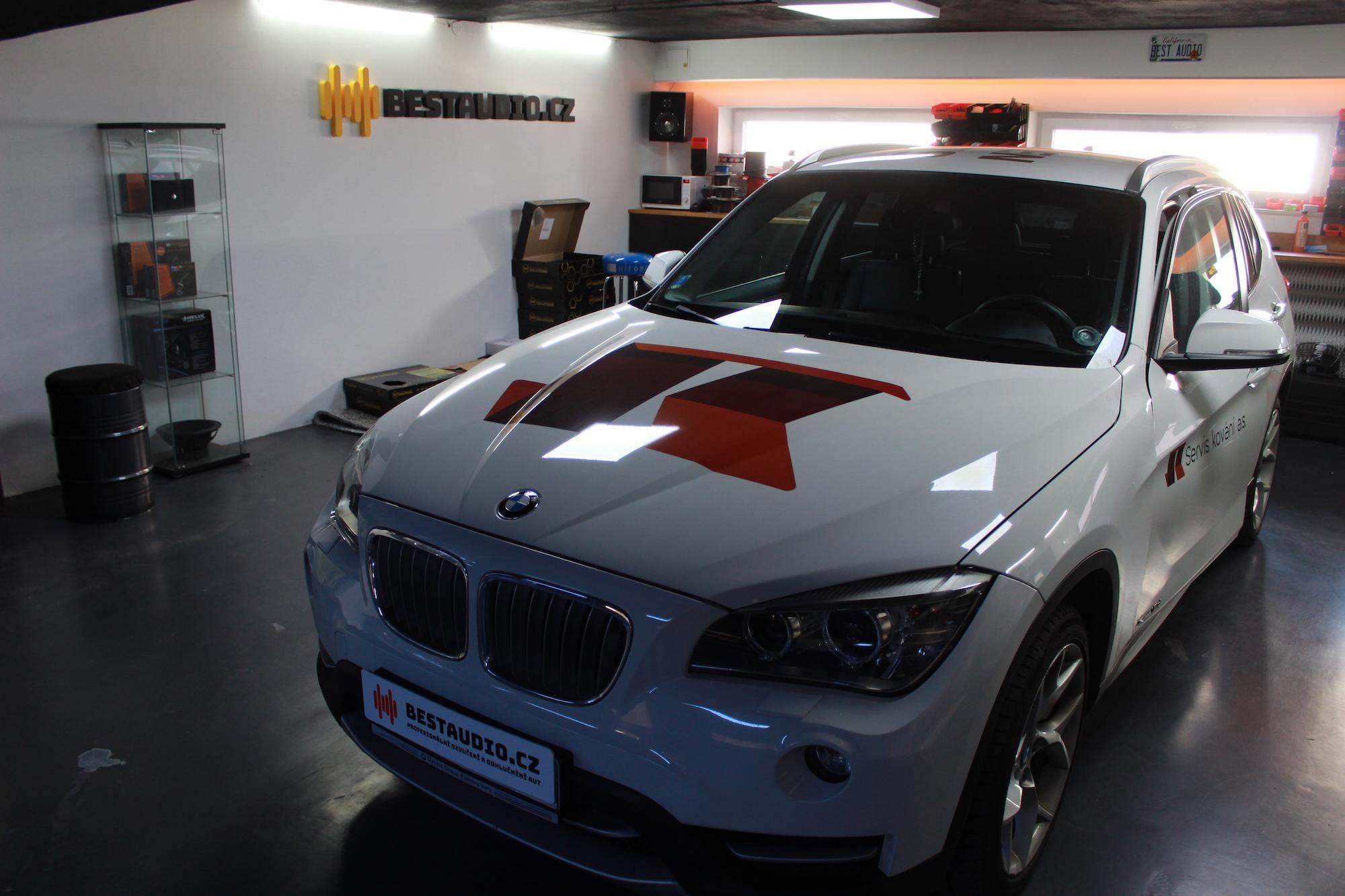 BMW X1 – kompletní ozvučení a odhlučnění