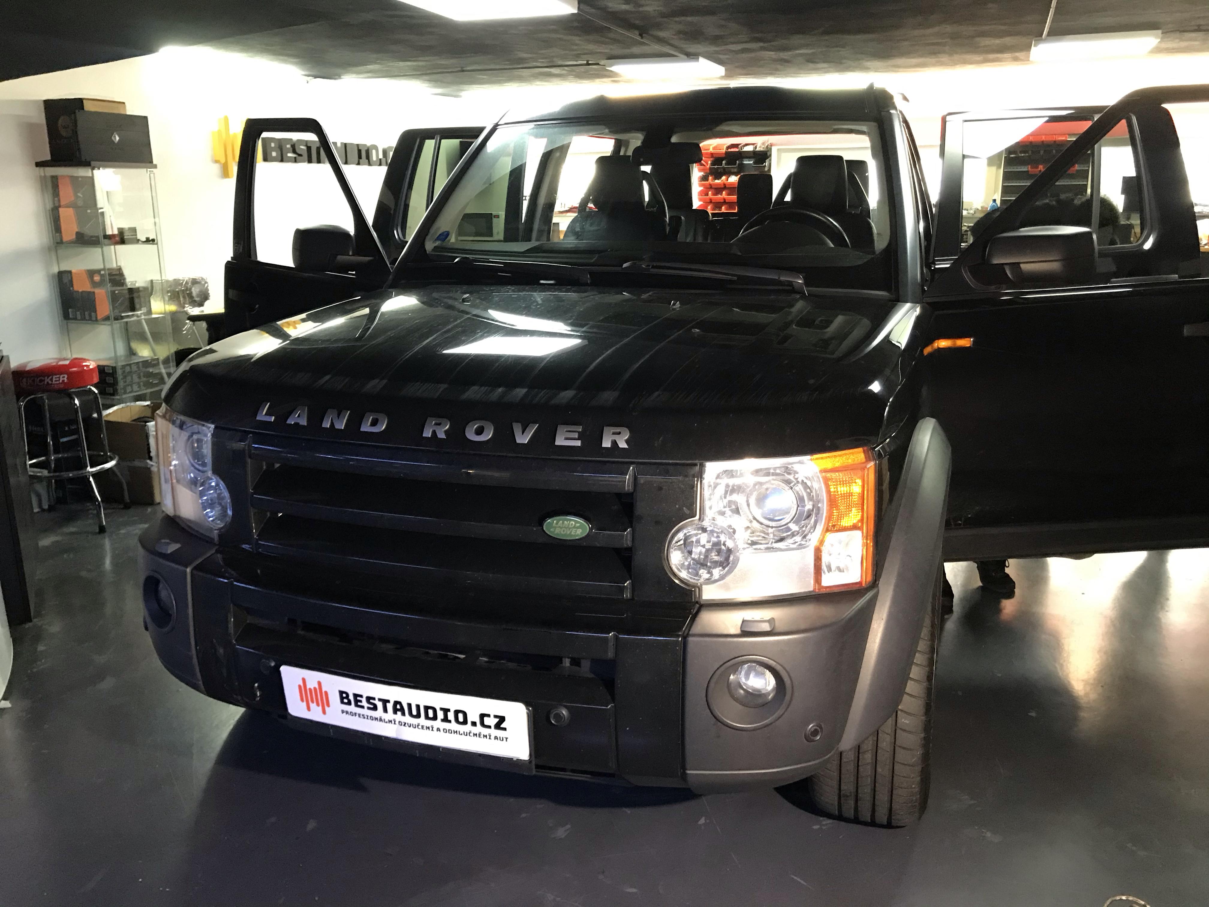 Ozvučení Land Rover Discovery 3 + Tlumení všech dveří
