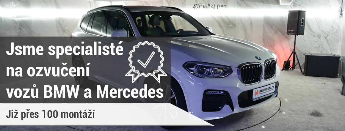 Montáže Best audio - BMW a Mercedes