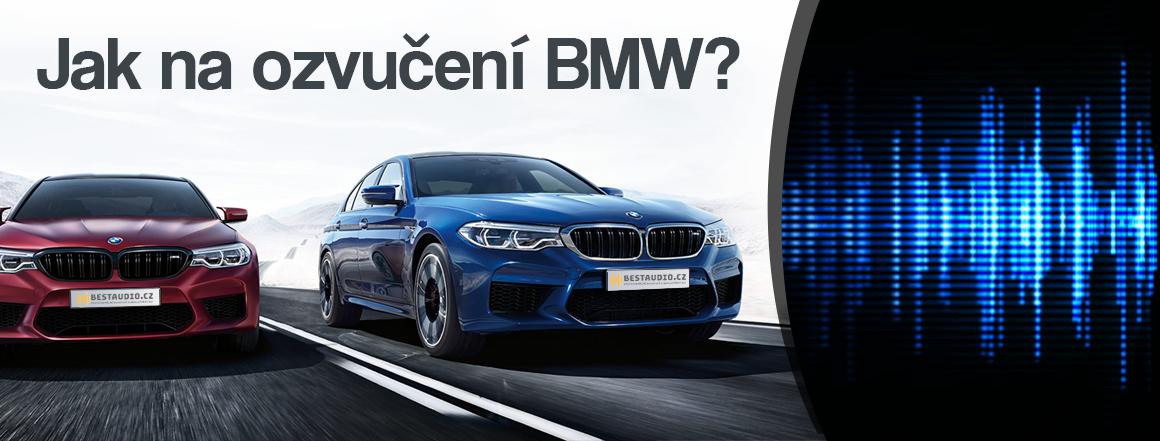 Jak na ozvučení BMW?