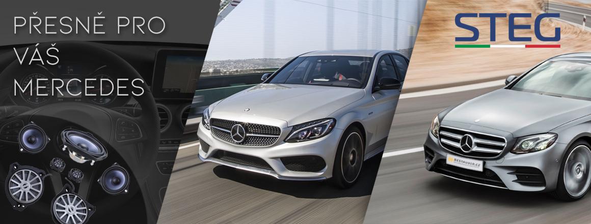 Audio přesně pro Váš Mercedes