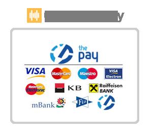 The pay - možnosti platby