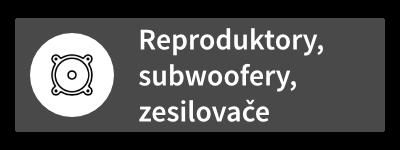 Reproduktory, subwoofery, zesilovače a příslušenství