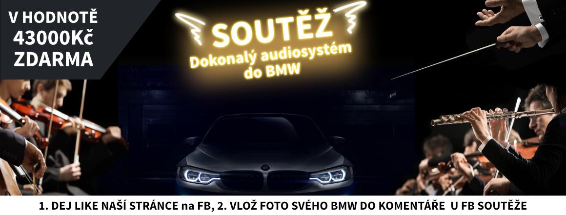Soutěž s Bestaudio - ozvučení BMW v hodnotě 43.000Kč ZDARMA