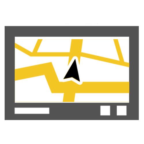 Autorádia s GPS navigací