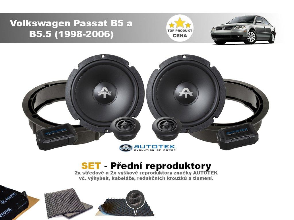 predni repro Volkswagen Passat B5 a B5.5 (1998 2006)