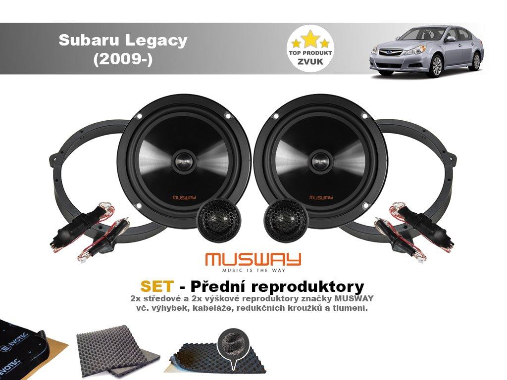 predni repro Subaru Legacy (2009 )