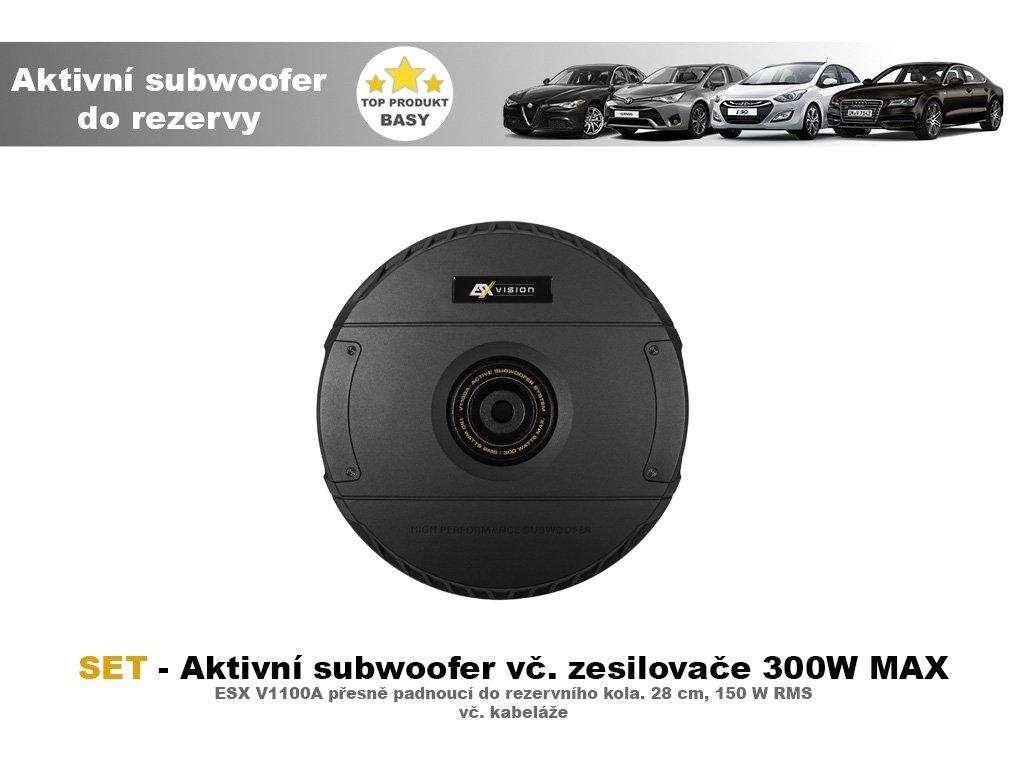 Subwoofer ESXdo rezervy