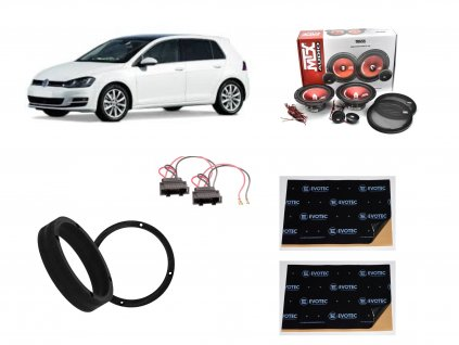Golf VI MTX Audio set