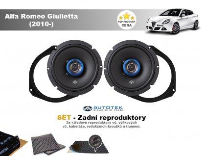 zadni reproduktory Alfa Romeo Giulietta (2010 )