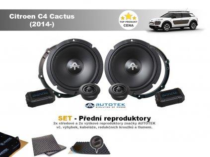 přední reproduktory Citroen C4 Cactus (2014 )