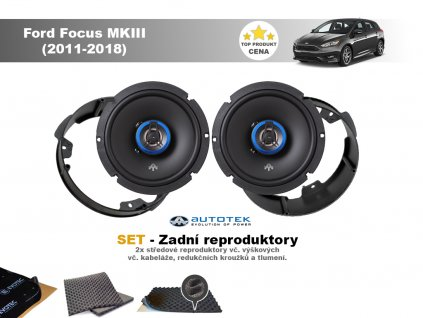 zadni repro Ford Focus MKIII (2011 2018)