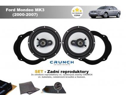 zadni dvere Ford Mondeo MK3 (2000 2007)