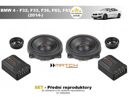 predni repro match BMW 4 F32, F33, F82, F83 (2014 )
