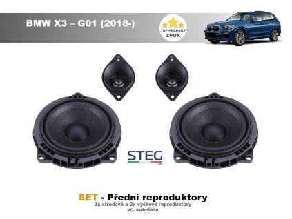 predni repro steg BMW X3 – G01 (2018 )