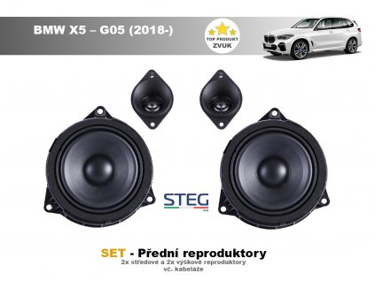 predni repro steg BMW X5 – G05 (2018 )