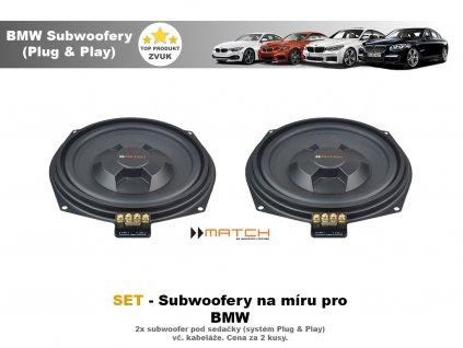 Subwoofer BMW MATCH MW8