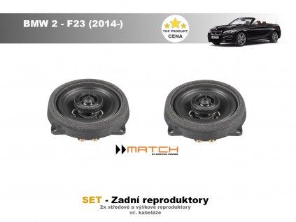 zadni repro match BMW 2 F23 (2014 )