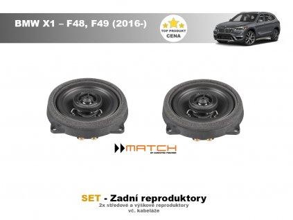 zadni repro match BMW X1 – F48, F49 (2016 )
