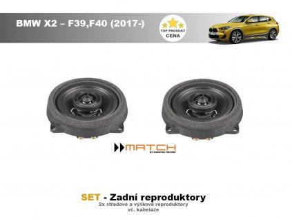 zadni repro BMW X2 – F39,F40 (2017 )