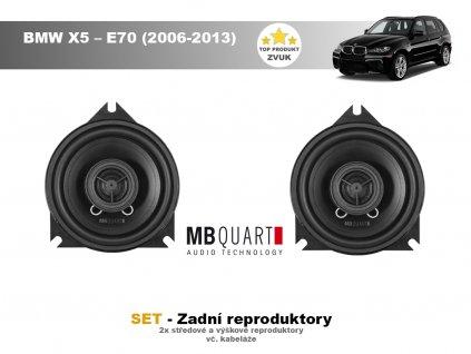 zadni repro MBQ BMW X5 – E70 (2006 2013)