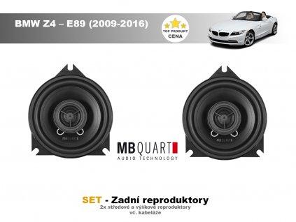 zadni repro MBQ BMW Z4 – E89 (2009 2016)