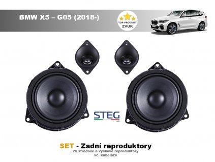 zadni repro steg BMW X5 – G05 (2018 )