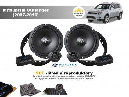 predni repro Mitsubishi Outlander (2007 2016)