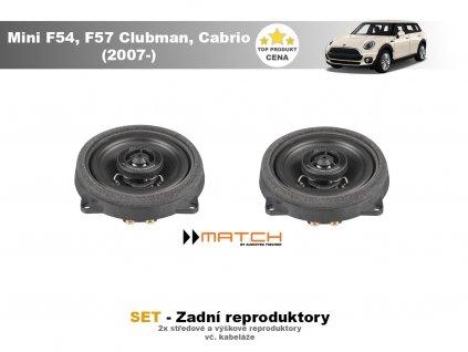 zadni repro match Mini F54, F57 Clubman, Cabrio (2007 )