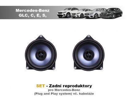 Mercedes STEG SET Zadní reproduktory všechny mercedesy