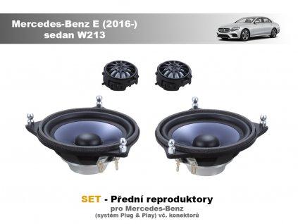 predni repro Mercedes Benz E (2016 ) sedan W213