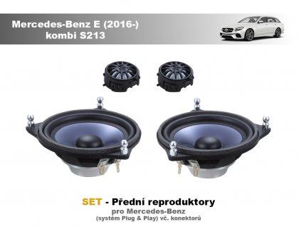 predni repro Mercedes Benz E (2016 ) kombi S213