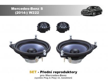 predni repro Mercedes Benz S (2014 ) W222