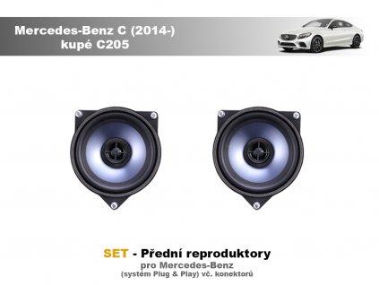 predni repro Mercedes Benz C (2014 ) kupé C205
