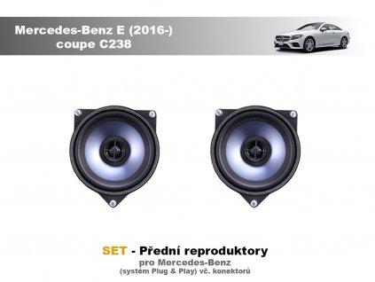 predni repro Mercedes Benz E (2016 ) coupe C238
