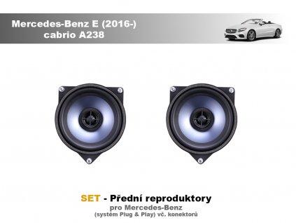 predni repro Mercedes Benz E (2016 ) cabrio A238