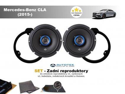 zadni repro Mercedes Benz CLA (2015 )