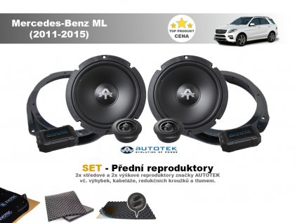 predni repro Mercedes Benz ML (2011 2015)