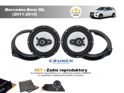 zadni repro Mercedes Benz ML (2011 2015)