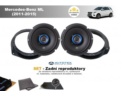 zadni repro Mercedes Benz ML (2011 2015)