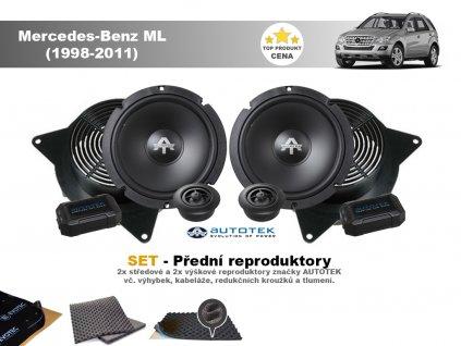 predni repro Mercedes Benz ML (1998 2011)