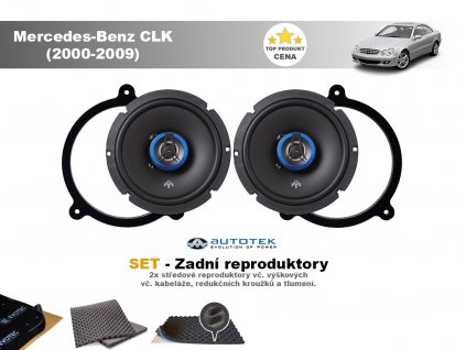 zadni repro Mercedes Benz CLK (2000 2009)