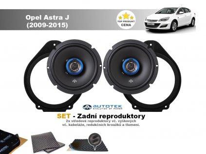 zadni repro Opel Astra J (2009 2015)