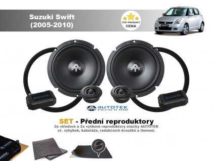 predni repro Suzuki Swift (2005 2010)
