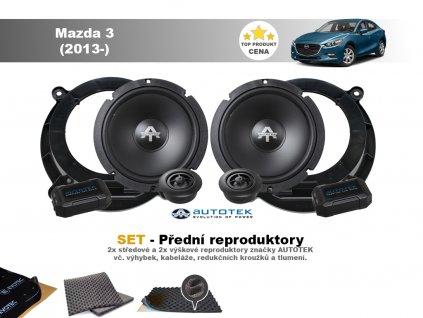 predni repro Mazda 3 (2013 )