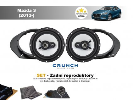 zadni repro Mazda 3 (2013 )