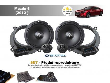 predni repro Mazda 6 (2012 )
