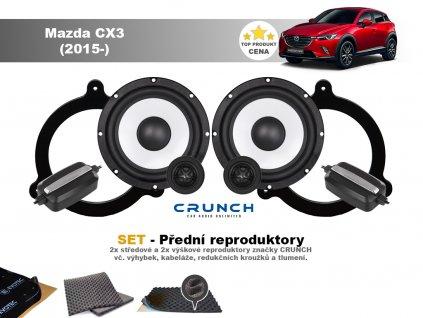 predni repro Mazda CX3 (2015 )