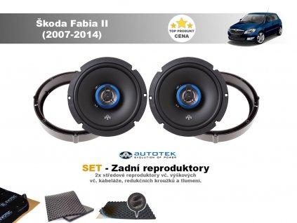 zadni repro Škoda Fabia II (2007 2014)