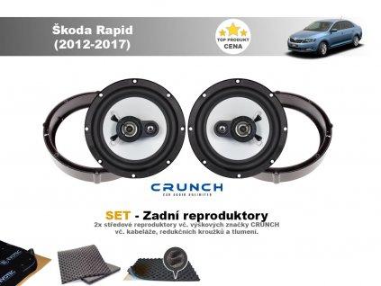 zadni repro Škoda Rapid (2012 2017)